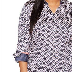 Wrinkle free tunic/dress shirt - 20w